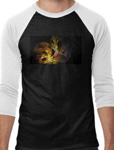 Solar Trumpets Men's Baseball ¾ T-Shirt