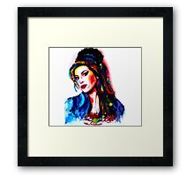 """""""My colors for Amy"""" Framed Print"""