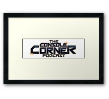 The Console Corner Podcast Framed Print