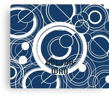 Doctor Who - Gallifreyan Canvas Print
