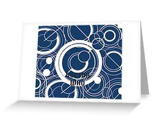 Doctor Who - Gallifreyan Greeting Card