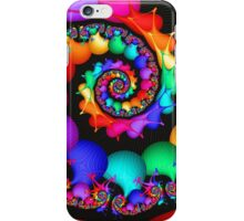 Spin of the Rainbow iPhone Case/Skin