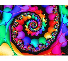 Spin of the Rainbow Photographic Print