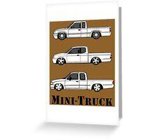 Mini Truck Greeting Card