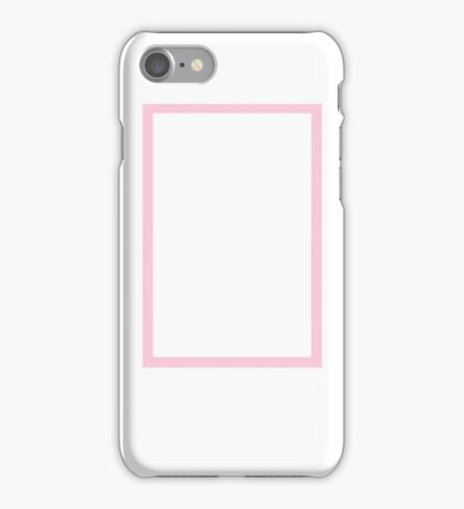 The 1975 Rectangle Pink iPhone Case/Skin