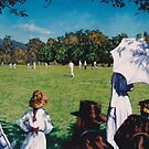 Sunday Cricket 1896 by Cary McAulay