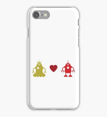 robot love iPhone Case/Skin