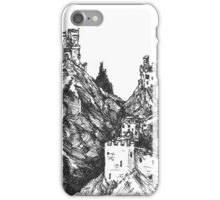 The Castles on the Cliffs iPhone Case/Skin