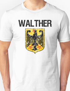 Walther Surname German T-Shirt