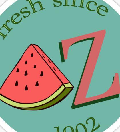 DZ Fresh Sticker