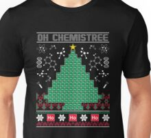 Chemist Element Oh Chemistree Ugly Christmas Sweater T-Shirt Unisex T-Shirt