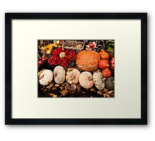 Fruits of Autumn Framed Print