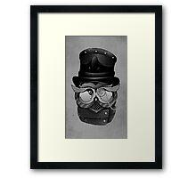 Mr. Who Framed Print