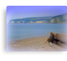 Lunch in Seaton Canvas Print