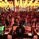 Dancing Under the Lights, Lower Manhattan, New York City by lenspiro