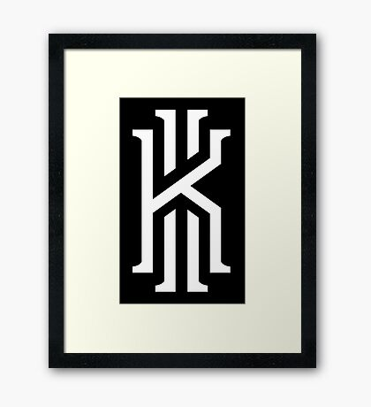 official kyrie irving Framed Print