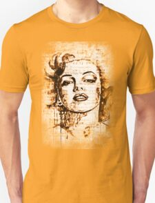 Marilyn Monroe original  ink painting T-Shirt