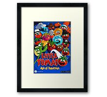 Little Tomato; Age of Tomatoes, poster 1 Framed Print
