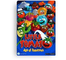 Little Tomato; Age of Tomatoes, poster 1 Canvas Print
