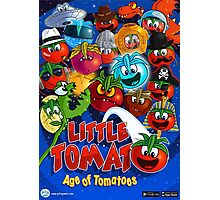 Little Tomato; Age of Tomatoes, poster 1 Photographic Print