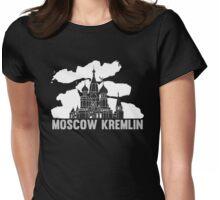 Moscow Kremlin Skyline Womens Fitted T-Shirt
