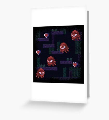 Monoeyes Greeting Card