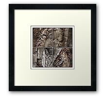 Withered and Weathered Framed Print