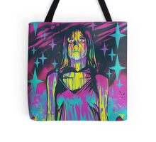 Neon Horror: Carrie Tote Bag