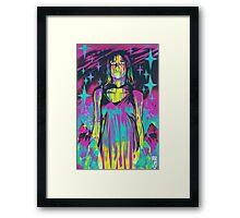 Neon Horror: Carrie Framed Print