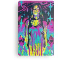 Neon Horror: Carrie Metal Print