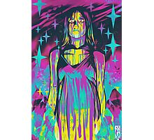 Neon Horror: Carrie Photographic Print