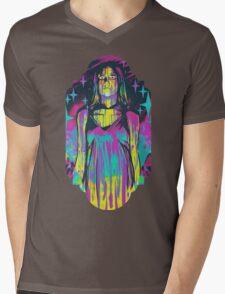 Neon Horror: Carrie Mens V-Neck T-Shirt