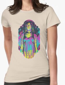 Neon Horror: Carrie Womens Fitted T-Shirt