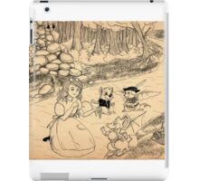 Tammy Meets Cedric The Mongoose iPad Case/Skin