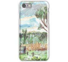 Old Shed at Dawn iPhone Case/Skin