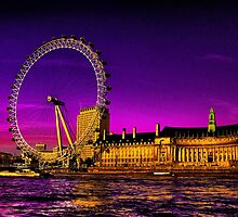 London Eye by LudaNayvelt