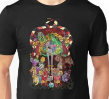 Stained Glass Dragons Unisex T-Shirt
