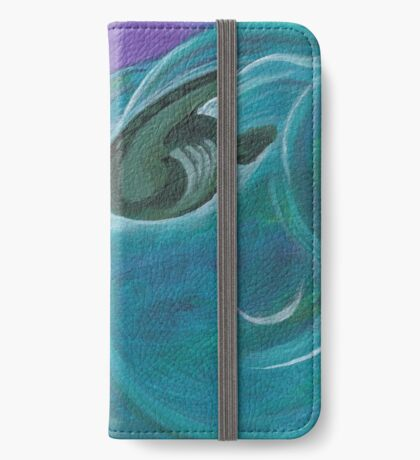 Sea Turtle- swimming iPhone Wallet/Case/Skin