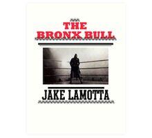 Bronx Bull Art Print