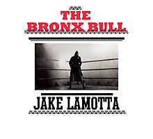 Bronx Bull Photographic Print