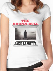 Bronx Bull Women's Fitted Scoop T-Shirt