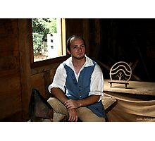 Colonial Shoemaker at Mt. Vernon Photographic Print