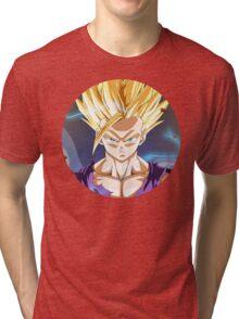 SSJ2 Gohan Tri-blend T-Shirt