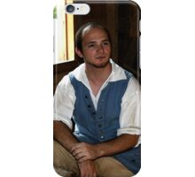 Colonial Shoemaker at Mt. Vernon iPhone Case/Skin