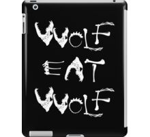 Wolf Eat Wolf iPad Case/Skin
