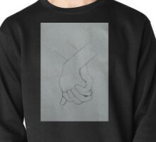 holding hands Pullover