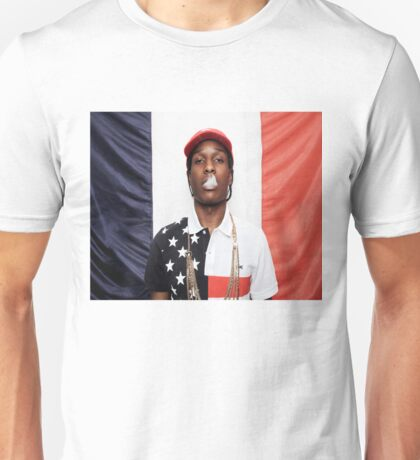A$ap Rocky X French Unisex T-Shirt