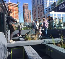 Play Area, High Line, New York City's Elevated Park and Garden by lenspiro