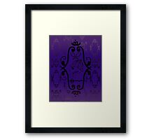 Skullock Framed Print