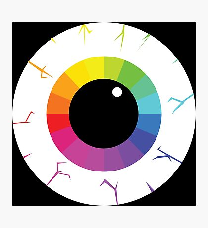 Palette Eye Photographic Print